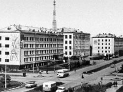Астана (бывший Целиноград), Казахстан